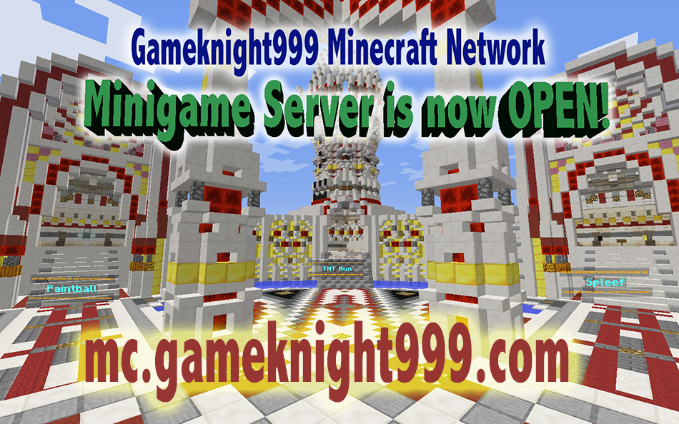 Minigame server is now OPEN!!!
