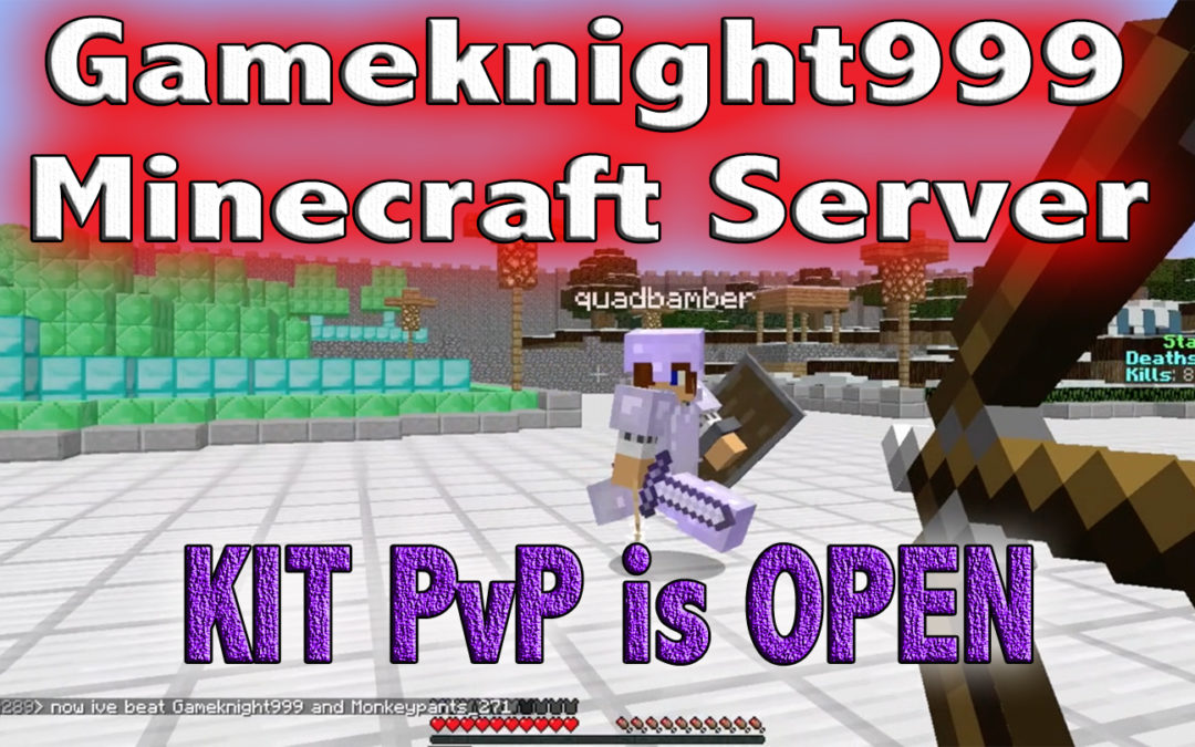 Kit PvP is now OPEN!!!