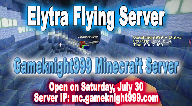 Elytra Flying Server is OPEN